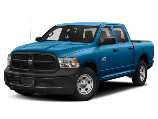 New  2019 Ram 1500 Classic Express Hydro Blue Truck Crew Cab in Prince Albert
