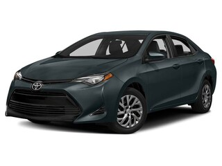 2019 Toyota Corolla LE Upgrade Package Sedan