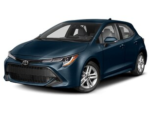 2019 Toyota Corolla Hatch MANUAL TRANSMISSION Hatchback