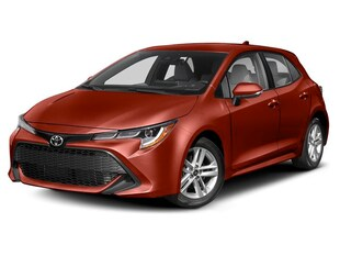 2019 Toyota Corolla Hatch AUTOMATIC TRANS. Hatchback
