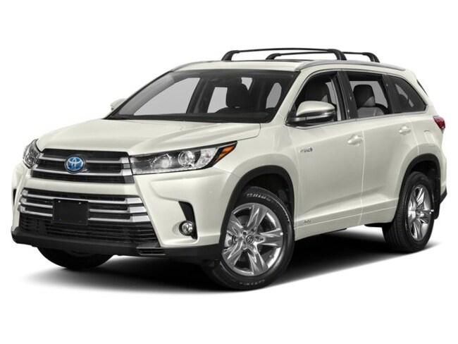 2019 Toyota Highlander Hybrid XLE : navigation SUV