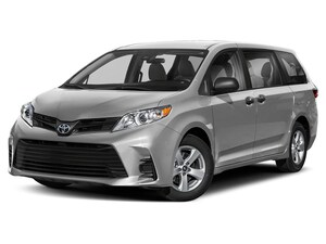 2019 Toyota Sienna LE: Standard Package