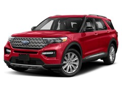 2020 Ford Explorer XLT SUV 2.3L Premium Unleaded Rapid Red Tinted
