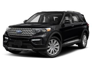 2020 Ford Explorer Platinum SUV 3.0L Premium Unleaded Agate Black