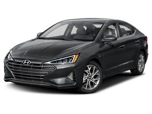 2020 Hyundai Elantra Ultimate Sedan