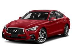2020 INFINITI Q50 Red Sport I-LINE Sedan