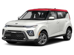2020 Kia Soul EX Anniversary Edition Hatchback ICVT 2.0L Clear White Body/Inferno Red Roof