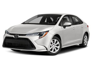 2020 Toyota Corolla LE CVT Upgrade Package