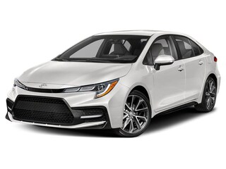 2020 Toyota Corolla 4-Door Sedan SE CVT  SE Upgrade Package Sedan