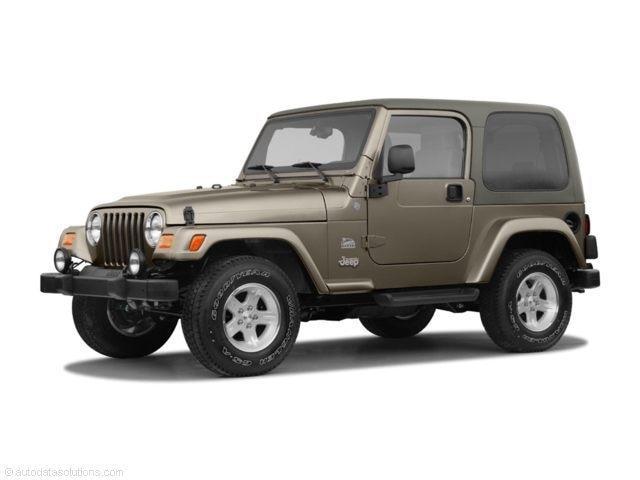 2004 Jeep TJ Sport Full Custom Lifted Tires Winch