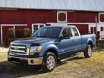 Ford F  Wd Supercab  Cabine Allongee