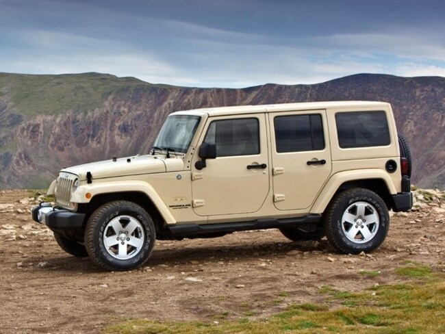 2013 Jeep Wrangler Unlimited Unlimited Rubicon, 4x4, Nav, Security Alarm, Performance Suspension SUV