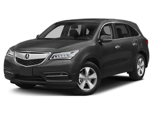 2015 Acura MDX Navigation Package Sport Utility