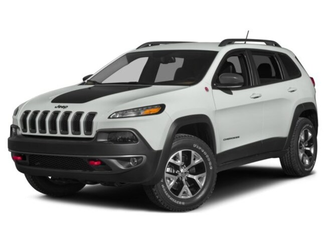 2015 Jeep Cherokee TRAILHAWK -- LOADED -- LEATHER -- 1 OWNER -- LOCAL! SUV