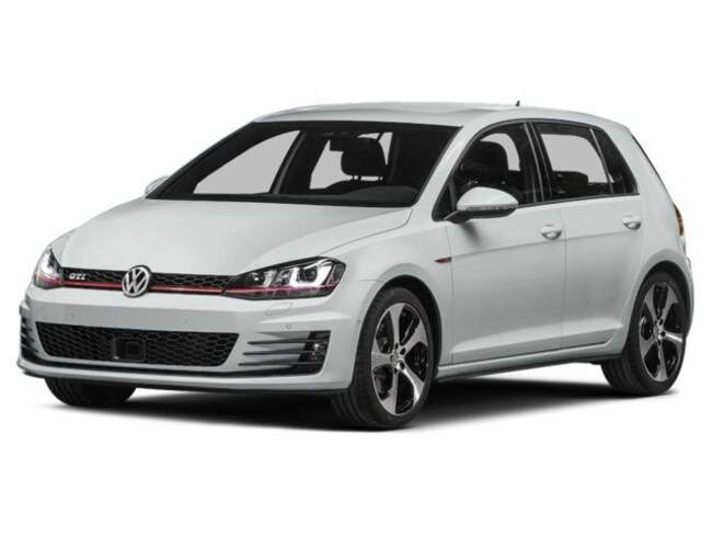 Check Out This Used 2015 Volkswagen Golf GTI 5-Door