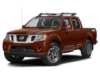 2017 Nissan Frontier PRO-4X Crew Cab Pickup