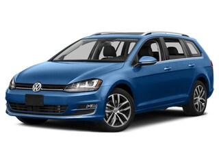 Used 2017 Volkswagen Golf SportWagen Wagon for Sale in Red Deer
