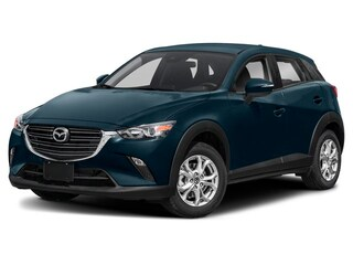 2019 Mazda CX-3 GS- DEEP CRYSTAL BLUE- AWD- LUXURY PKG SUV