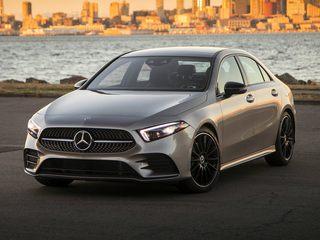 2021 Mercedes-Benz A-Class Sedan Polar White