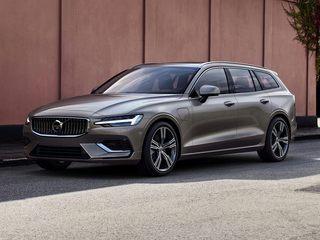 2021 Volvo V60 Recharge Plug-In Hybrid Wagon Osmium Gray Metallic