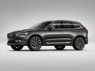 2021 Volvo XC60 SUV Pine Gray Metallic