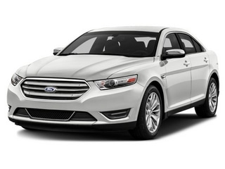 2016 Ford Taurus Sedan White Platinum Metallic Tri-Coat