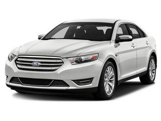 2016 Ford Taurus Sedan White Platinum Metallic Tri-Coat