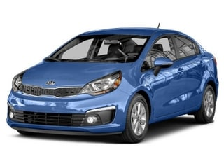 2016 Kia Rio Sedan Urban Blue Pearl Metallic