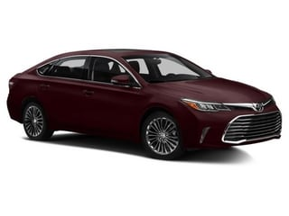 2016 Toyota Avalon Sedan Sizzling Crimson Mica