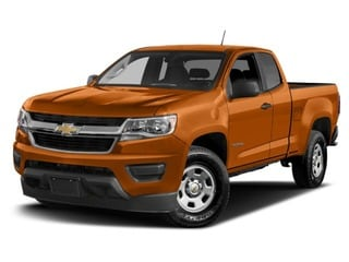 2017 Chevrolet Colorado Truck Burning Hot Metallic