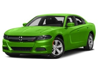 2017 Dodge Charger Sedan Green Go Clearcoat