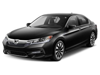 2017 Honda Accord Hybrid Sedan Crystal Black Pearl