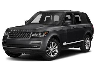2017 Land Rover Range Rover SUV Narvik Black