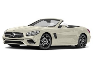 2017 Mercedes-Benz SL 550 Roadster designo Diamond White Metallic