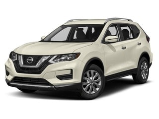 2017 Nissan Rogue SUV Pearl White