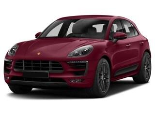 2017 Porsche Macan SUV Carmine Red