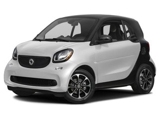 2017 smart fortwo Coupe White