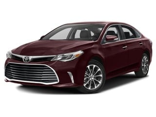 2017 Toyota Avalon Sedan Sizzling Crimson Mica