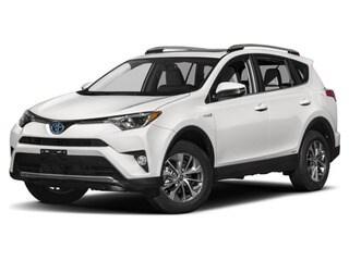 2017 Toyota RAV4 Hybrid SUV Super White