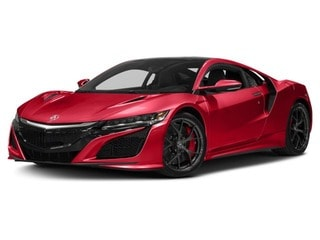 2018 Acura NSX Coupe Valencia Red Pearl