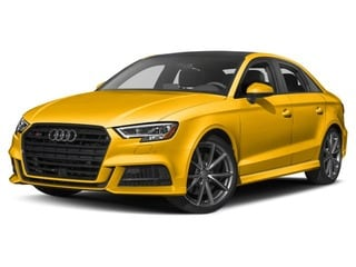 2018 Audi S3 Sedan Vegas Yellow