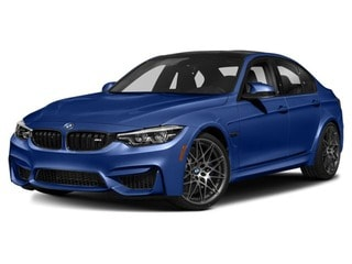 2018 BMW M3 Sedan San Marino Blue Metallic