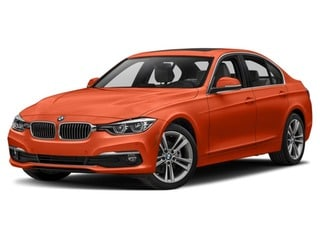 2018 BMW 328d Sedan Sunset Orange Metallic