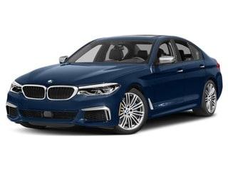 2018 BMW M550i Sedan Mediterranean Blue Metallic