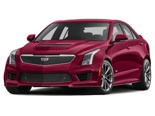 2018 CADILLAC ATS-V Sedan Velocity Red