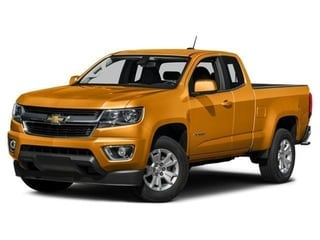 2018 Chevrolet Colorado Truck Wheatland Yellow