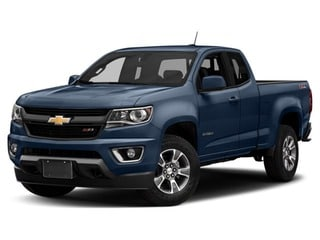2018 Chevrolet Colorado Truck Centennial Blue Metallic