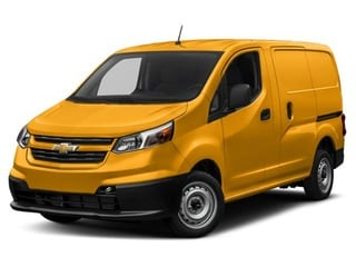 2018 Chevrolet City Express Van Sunglow Yellow