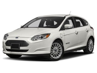 2018 Ford Focus Electric Hatchback White Platinum Metallic Tri-Coat