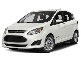 2018 Ford C-Max Hybrid Hatchback White Platinum Metallic Tri-Coat